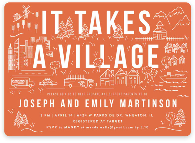 It Takes A Villageby Shiny Penny Studio