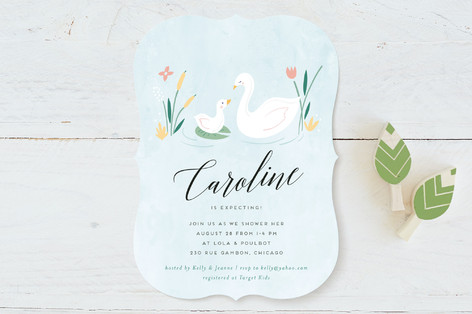 vermentine Baby Shower Invitations