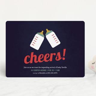 Cheers! Baby Shower Invitations