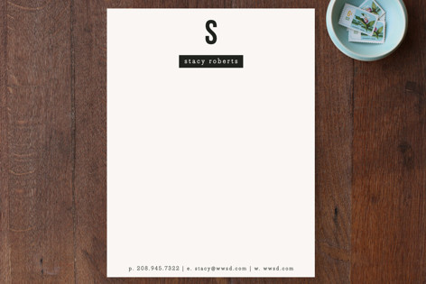 The Minimalist Business Stationery