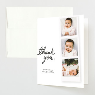 First Snapshots Flat Birth Announcements Thank You Cards