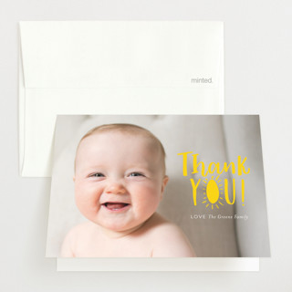 Little Sonshine Birth Announcements Thank You Cards