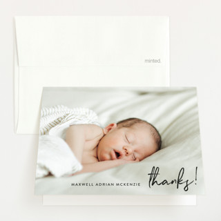 name simply Birth Announcements Thank You Cards