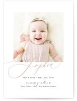 Happy Baby Birth Announcements