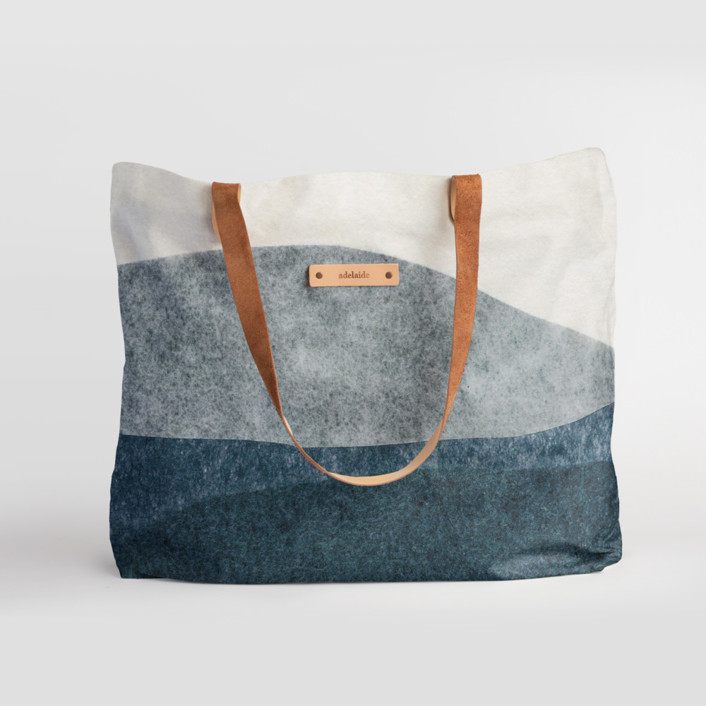 tissue overlay Carry-All Slouch Tote, $78