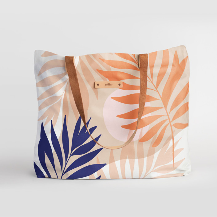 Tropical mood Carry-All Slouch Tote
