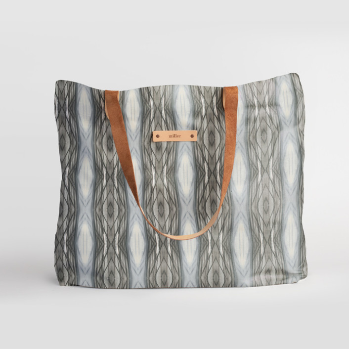Ikat Strie Dopp Carry-All Slouch Tote, $78