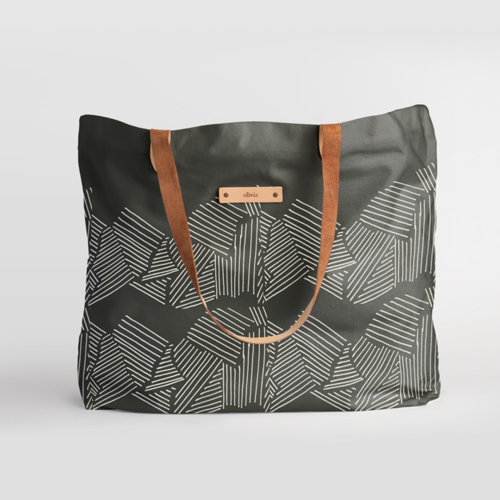 Savanna Grassland Carry-All Slouch Tote