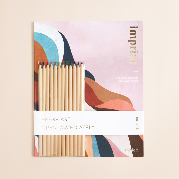 The Minted 2020 Coloring Book Coloring Book
