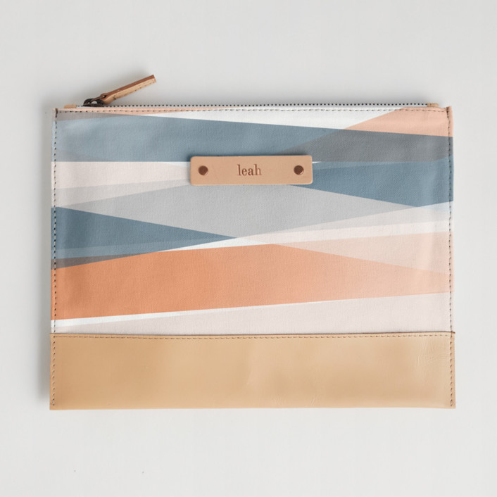 Pastel Beach Casual Clutch, $28