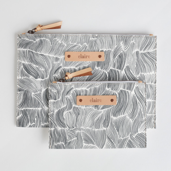 Breeze Catch-All Fabric Pouch Set, $38