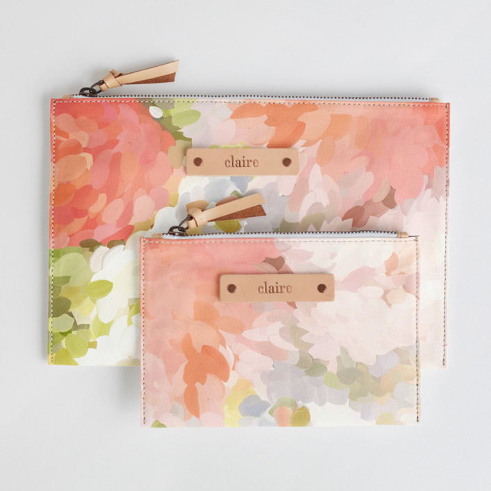 Spring Bloom Catch-All Fabric Pouch Set, $38