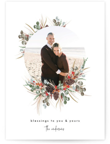 Trimming Together Christmas Photo Cards