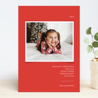 Simplicity Christmas Photo Cards