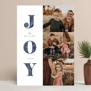 Decorated Joy Christmas Photo Cards
