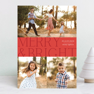 Merry Tri Christmas Photo Cards
