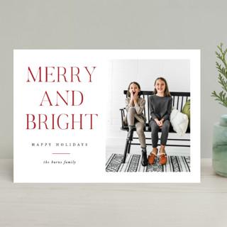 All The Joy Christmas Photo Cards
