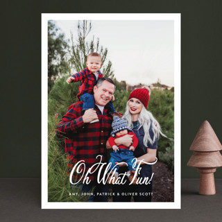 Poste Christmas Photo Cards