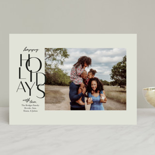 Gallery Type Christmas Photo Cards