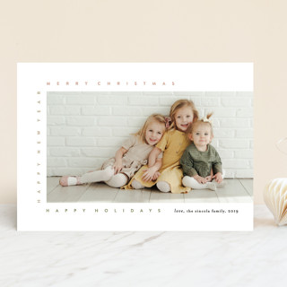 merry frame Christmas Photo Cards