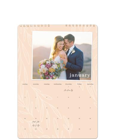 Cascading Greenery Calendars