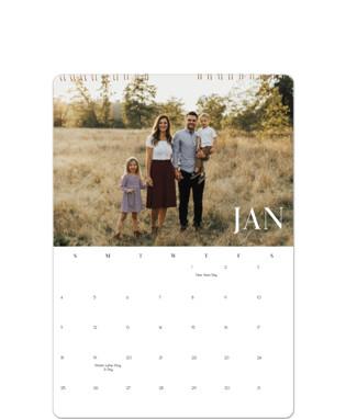 Minimal Space Calendars