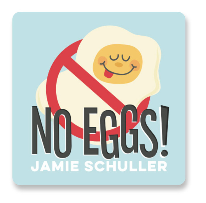 No Eggs Custom Name Labels