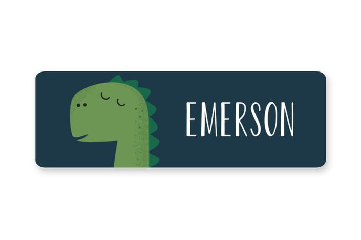 Dino-mite Custom Name Labels