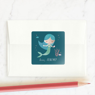Magical Mermaid Custom Stickers