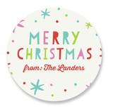 Holiday Cheers Custom Stickers