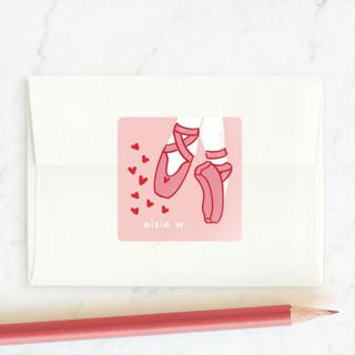 Ballet-tines Custom Stickers