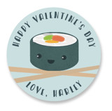 Sushi Love Custom Stickers