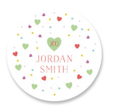 LOVE & HUGS Custom Stickers