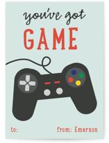 Video Gamer Classroom Valentine's Cards