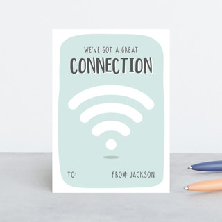 Strong Connection Classroom Valentine's Cards