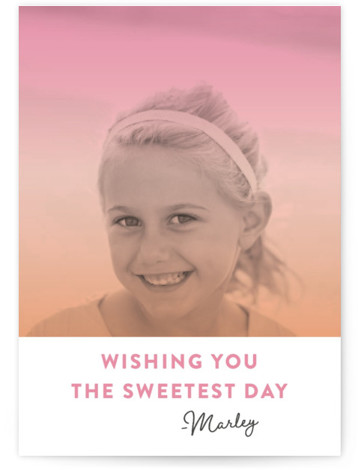 Candy coated Classroom Valentine's Day Cards