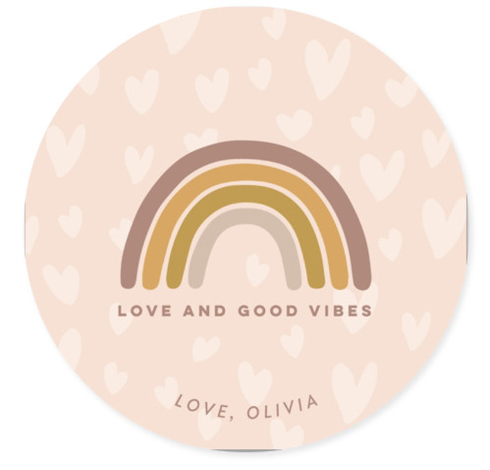 Love & Good Vibes Classroom Valentine's Day Cards