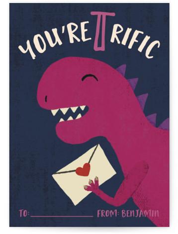 T-Rific Classroom Valentine's Day Cards