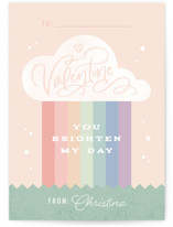 Brighten My Day Classroom Valentine's Day Cards