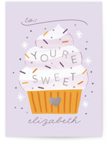 You're Sweet Foil-Pressed Classroom Valentine's Day Cards
