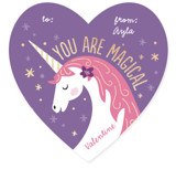 Magical Valentine Foil Valentine Cards