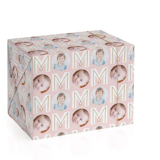 MOM Personalized Wrapping Paper