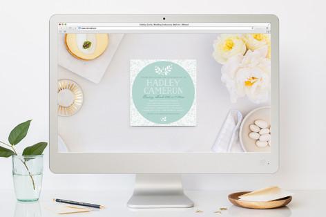 Darling Garden Confirmation Online Invitations