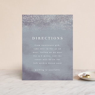 Dusted Gloss-Press™ Direction Cards