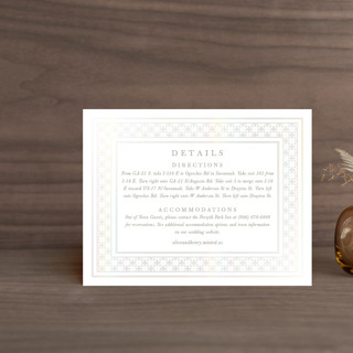 House of York Gloss-Press™ Direction Cards