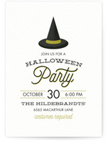 Witchy Halloween Online Invitations