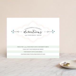 Striped Sweet Nothings Direction Cards