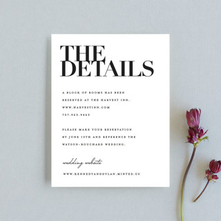 The Minimalist Direction Cards