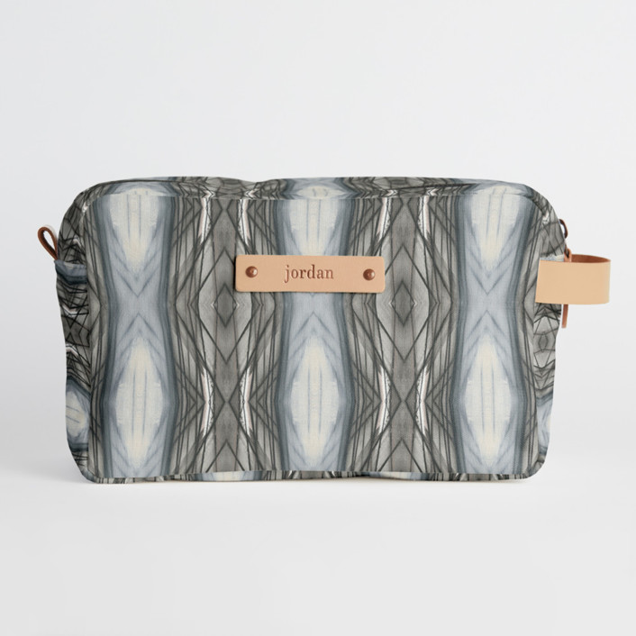 Ikat Stripe Dopp Kit