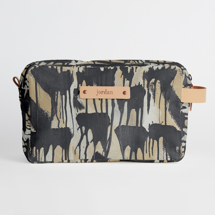 Cloud Drip Duffle Dopp Kit, $34